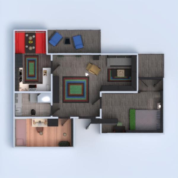 floorplans appartamento arredamento decorazioni angolo fai-da-te bagno camera da letto saggiorno cucina cameretta sala pranzo 3d