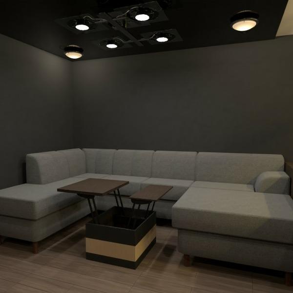 planos salón cocina estudio descansillo 3d