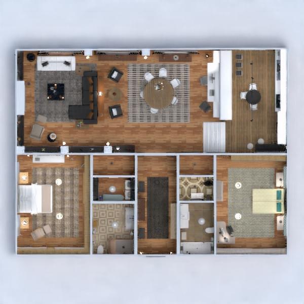 floorplans mieszkanie dom meble wystrój wnętrz zrób to sam łazienka sypialnia pokój dzienny kuchnia pokój diecięcy oświetlenie gospodarstwo domowe architektura przechowywanie wejście 3d
