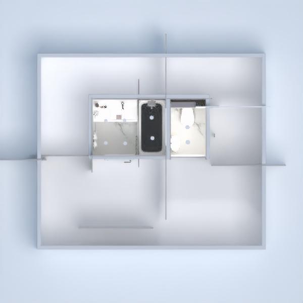 floorplans apartment house furniture bathroom 3d