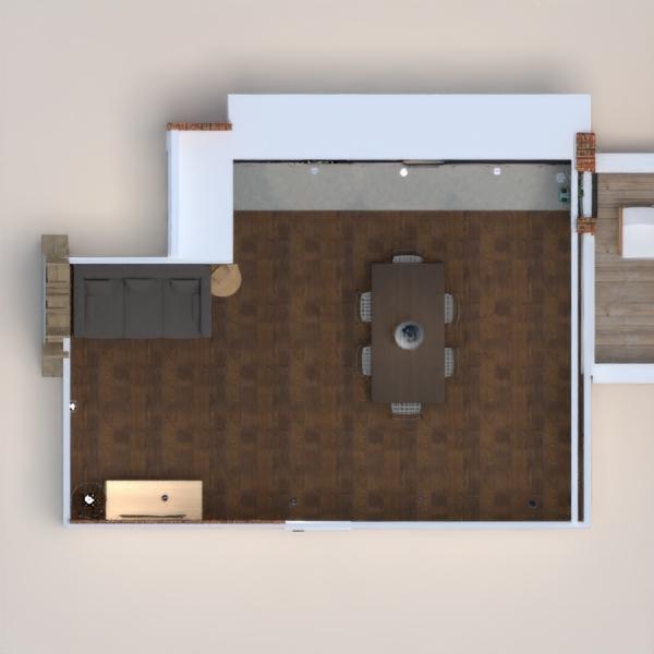 floorplans apartamento terraza bricolaje cocina iluminación paisaje cafetería comedor descansillo 3d