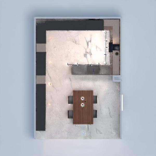 floorplans dom kuchnia oświetlenie gospodarstwo domowe jadalnia 3d
