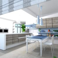 floorplans furniture kitchen lighting 3d