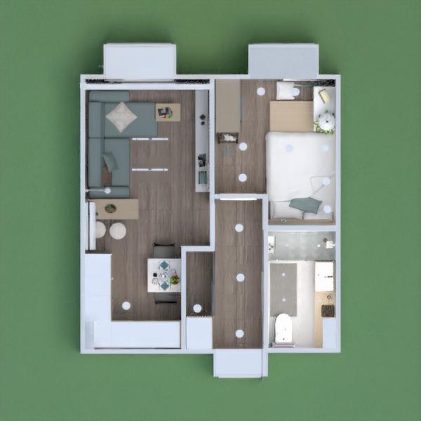 floorplans apartamento casa mobílias decoração faça você mesmo casa de banho dormitório quarto cozinha quarto infantil escritório iluminação reforma utensílios domésticos cafeterias sala de jantar despensa estúdio patamar 3d