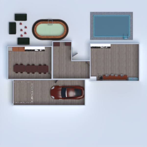 floorplans house outdoor renovation dining room 3d