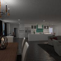 floorplans house furniture decor living room kitchen 3d