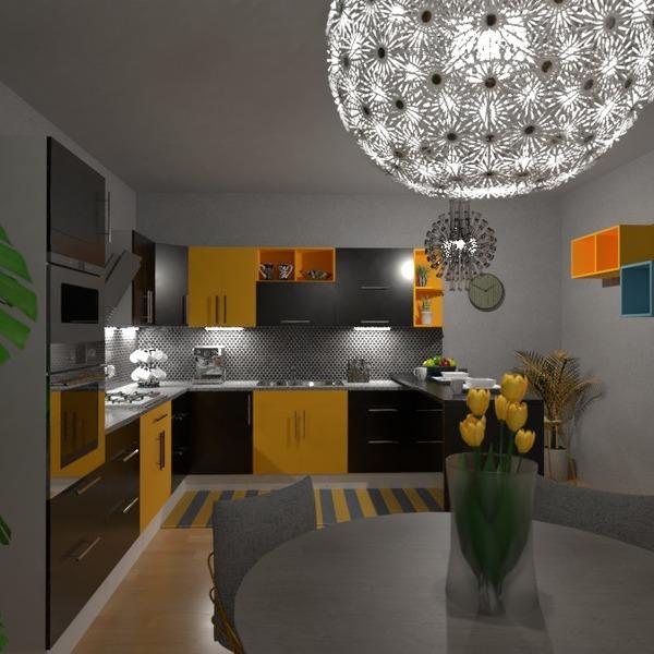 floorplans mobiliar dekor küche beleuchtung esszimmer 3d