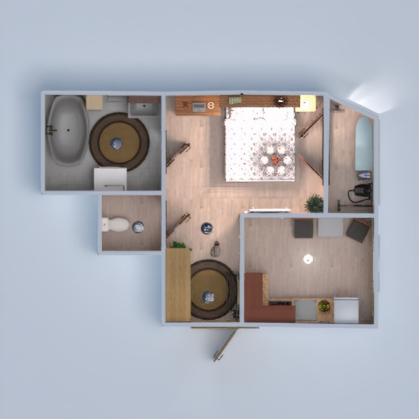floorplans apartment decor 3d