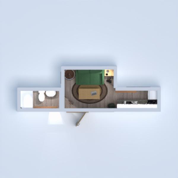 floorplans appartamento cucina rinnovo architettura 3d