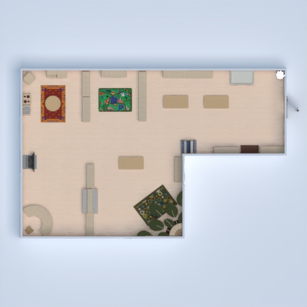 floorplans bricolaje habitación infantil 3d