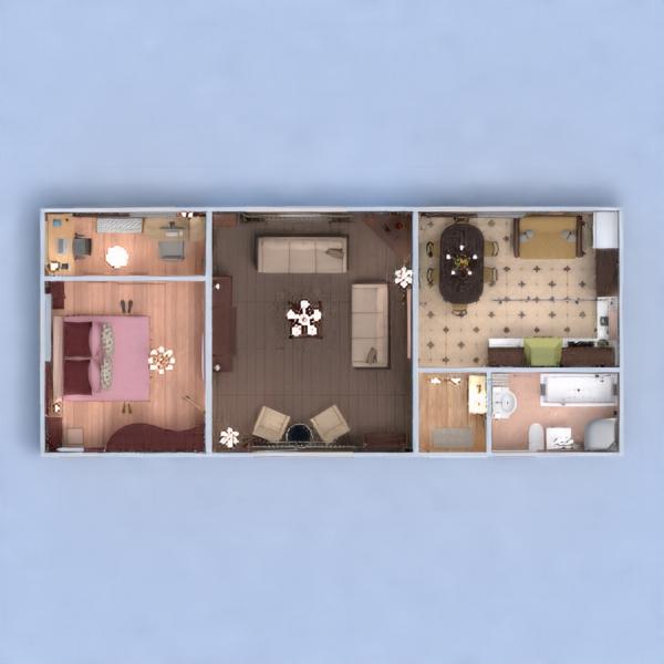 floorplans mieszkanie dom meble wystrój wnętrz zrób to sam łazienka sypialnia pokój dzienny kuchnia oświetlenie remont gospodarstwo domowe jadalnia przechowywanie wejście 3d