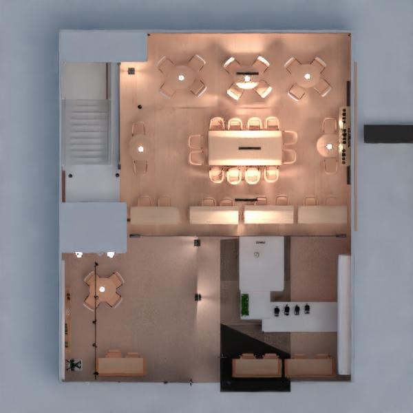 floorplans cafeterias 3d
