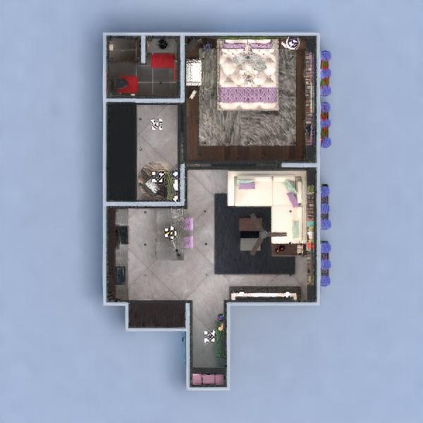 floorplans wohnung dekor badezimmer schlafzimmer architektur lagerraum, abstellraum 3d