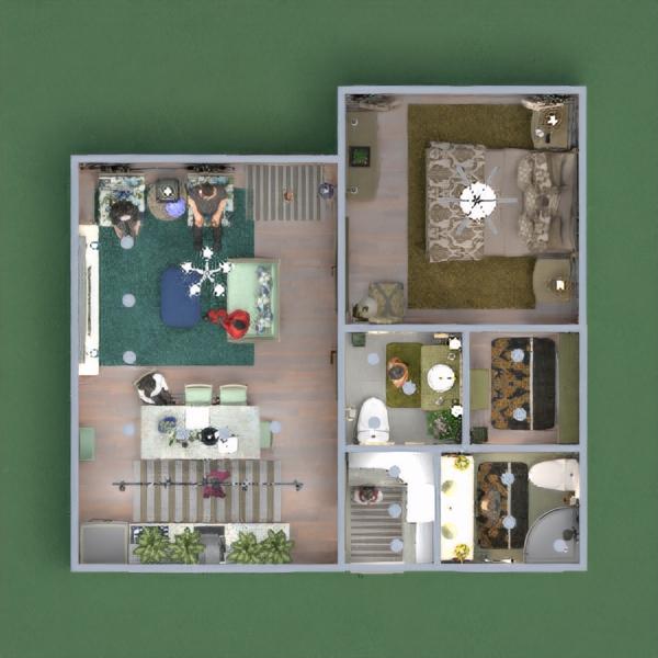 floorplans casa decoración cuarto de baño 3d