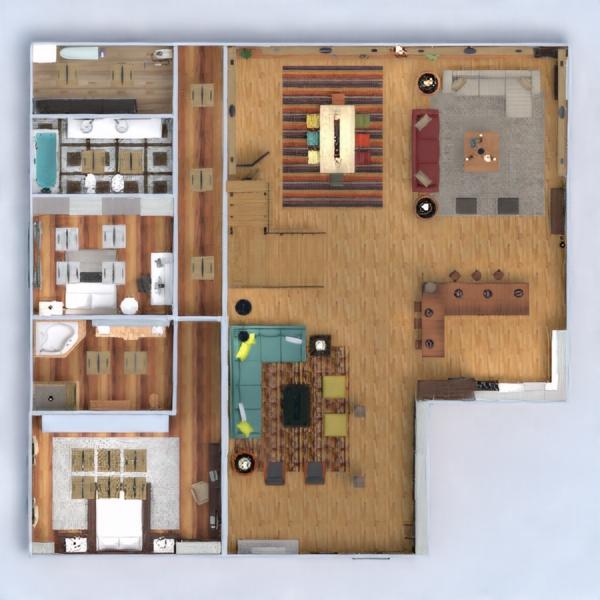 floorplans mieszkanie dom meble wystrój wnętrz zrób to sam łazienka sypialnia pokój dzienny kuchnia oświetlenie jadalnia architektura przechowywanie mieszkanie typu studio wejście 3d