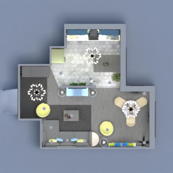 floorplans casa saggiorno cucina illuminazione sala pranzo 3d
