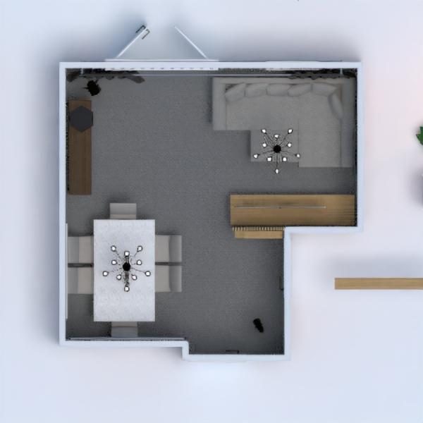 floorplans dom wystrój wnętrz zrób to sam pokój dzienny jadalnia 3d
