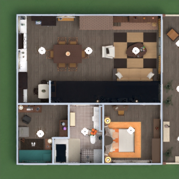 floorplans casa varanda inferior mobílias decoração faça você mesmo casa de banho dormitório quarto garagem cozinha área externa iluminação reforma paisagismo utensílios domésticos cafeterias sala de jantar arquitetura patamar 3d