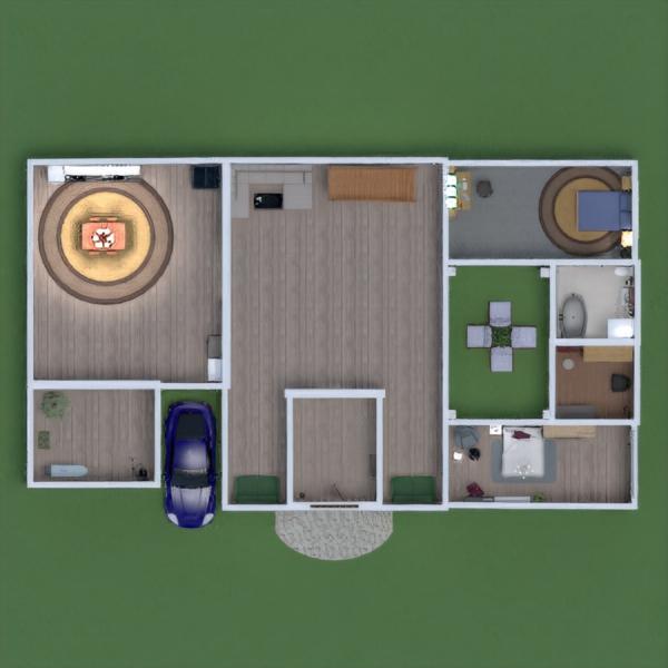 floorplans casa decoração utensílios domésticos arquitetura 3d