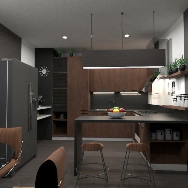 floorplans meble wystrój wnętrz zrób to sam kuchnia jadalnia 3d