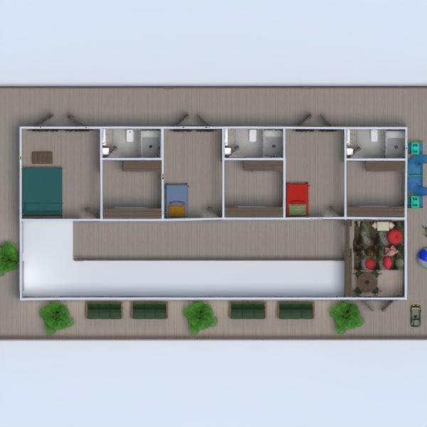 floorplans namas dekoras eksterjeras kraštovaizdis 3d