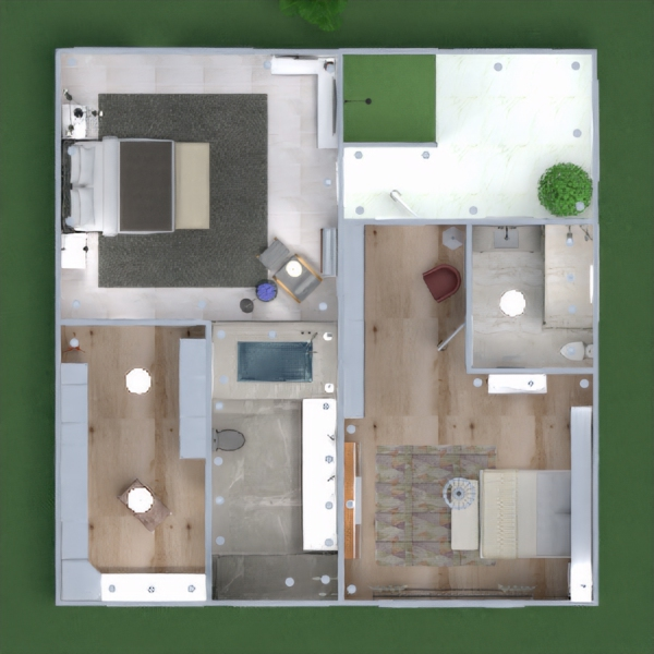 floorplans house terrace furniture decor bathroom bedroom living room garage kitchen outdoor lighting landscape household cafe dining room architecture storage entryway 3d