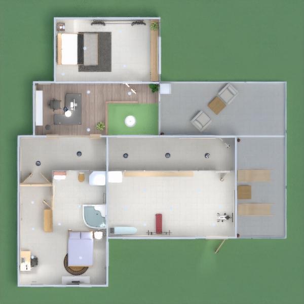 floorplans apartment house landscape household architecture 3d