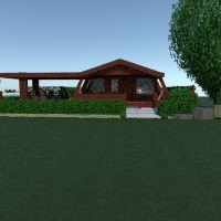 floorplans casa muebles cuarto de baño dormitorio salón cocina exterior 3d