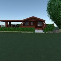 floorplans haus mobiliar badezimmer schlafzimmer wohnzimmer küche outdoor 3d