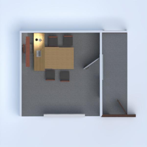 floorplans biuro oświetlenie 3d