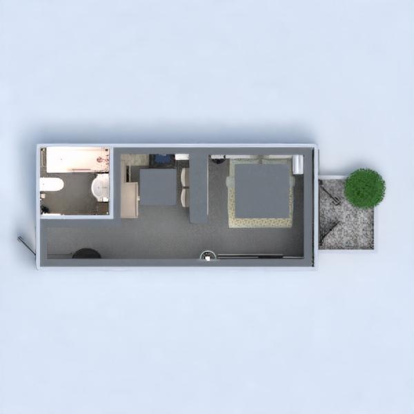 floorplans mieszkanie wystrój wnętrz remont mieszkanie typu studio 3d