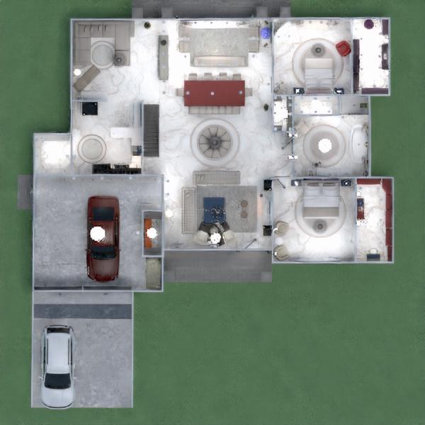 floorplans casa terraza muebles decoración hogar 3d