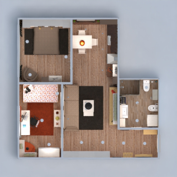 floorplans apartamento muebles decoración bricolaje cuarto de baño dormitorio salón cocina reforma comedor estudio 3d