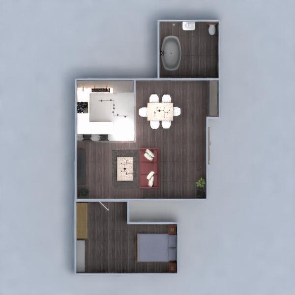 floorplans apartamento casa mobílias decoração 3d