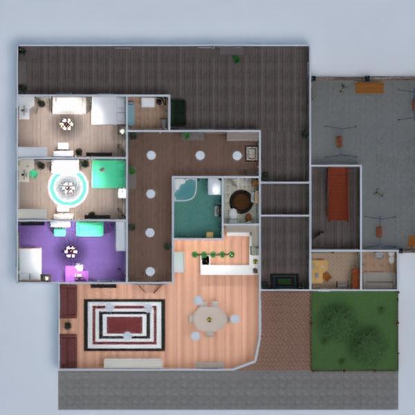 floorplans wohnung mobiliar dekor badezimmer schlafzimmer küche outdoor studio 3d