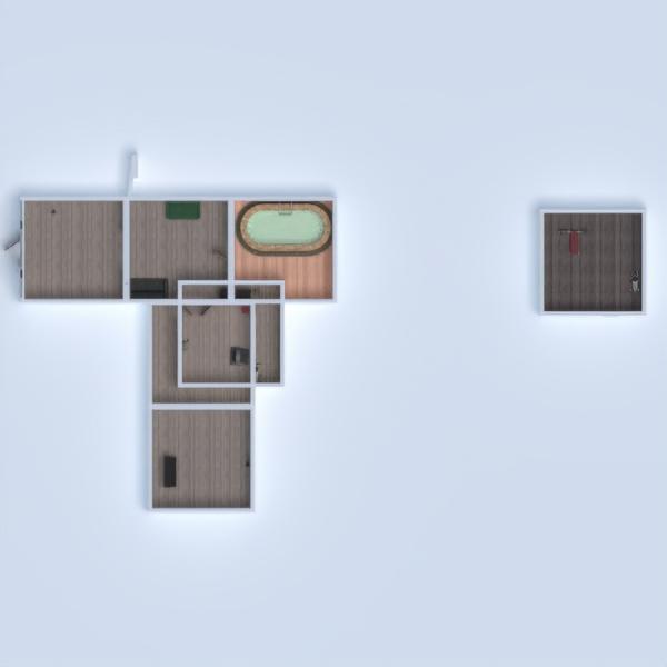 floorplans namas baldai dekoras svetainė vaikų kambarys 3d