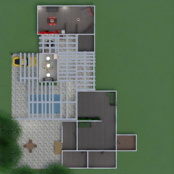 floorplans house kitchen landscape architecture 3d