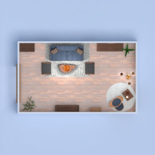 floorplans mieszkanie meble wystrój wnętrz pokój dzienny oświetlenie 3d