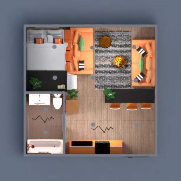 floorplans apartment decor diy living room kitchen 3d