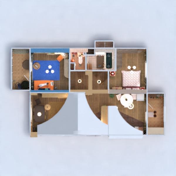 floorplans wohnung mobiliar dekor do-it-yourself badezimmer schlafzimmer wohnzimmer küche kinderzimmer büro beleuchtung renovierung haushalt esszimmer lagerraum, abstellraum eingang 3d
