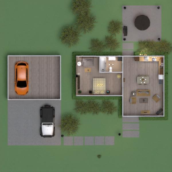 floorplans casa muebles decoración exterior iluminación 3d