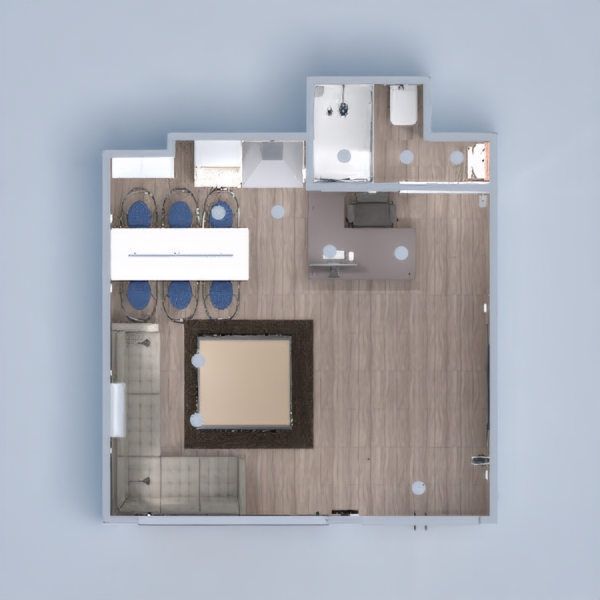 floorplans renovacija studija 3d