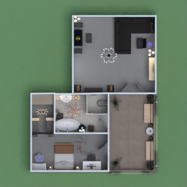 floorplans wohnung haus dekor do-it-yourself architektur 3d
