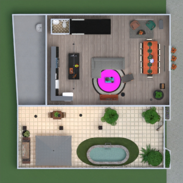 floorplans house terrace furniture decor diy bathroom bedroom living room kitchen outdoor lighting renovation landscape household dining room 3d