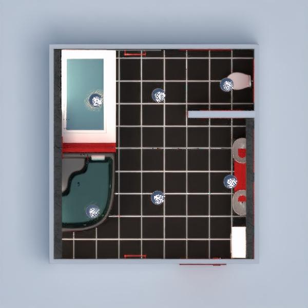 floorplans ванная 3d