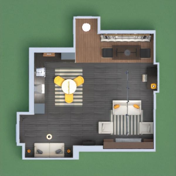 floorplans appartement maison décoration salon cuisine 3d
