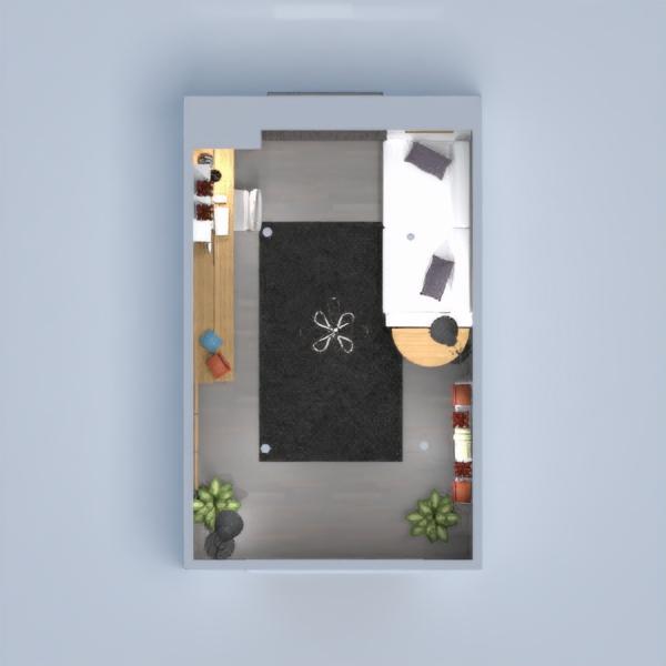 floorplans bureau eclairage 3d