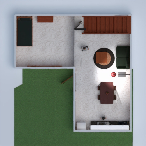 floorplans house living room 3d