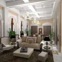 floorplans apartamento muebles decoración salón iluminación comedor arquitectura 3d
