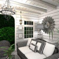 floorplans house terrace decor outdoor lighting 3d